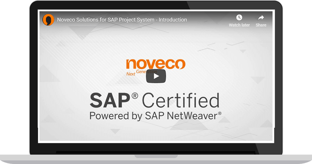 Noveco Solutions for SAP Project System - Introduction
